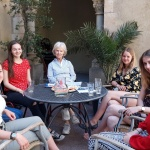 Au-pair Treffen in Madrid